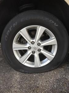 my flat tire, 2012