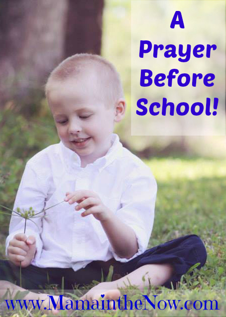 Prayer Before School