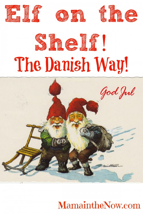 "Elf on the Shelf - The Danish Way. The tips and tricks the Danish elves play on ""their people"" is epic. Great elf idea!"