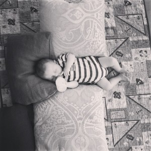 Elliott at nap time
