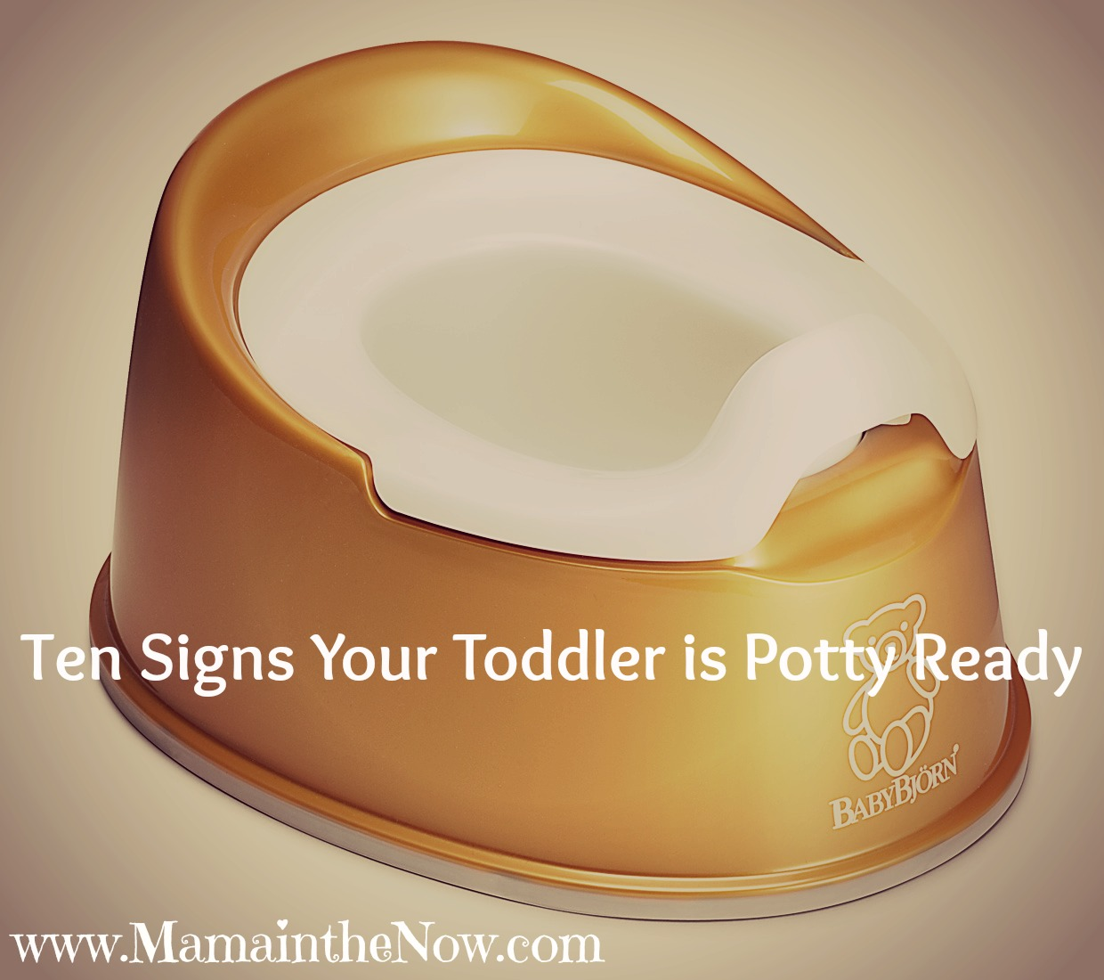 Signs toddler ready to potty train