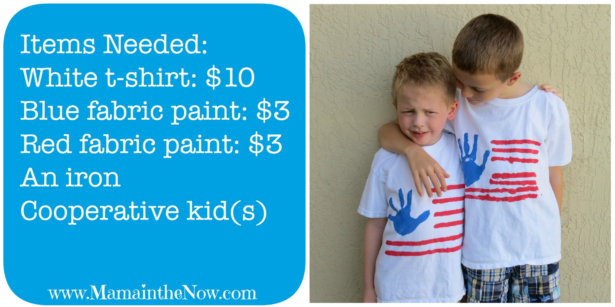 Handprint Flag Shirt