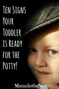 Ten Signs Your Toddler is Potty Ready