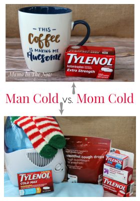 This mother of four tells a true tale of the man cold vs. the mom cold. Women WILL feel encouraged after reading this. Trust me, all men are the same when they are sick.