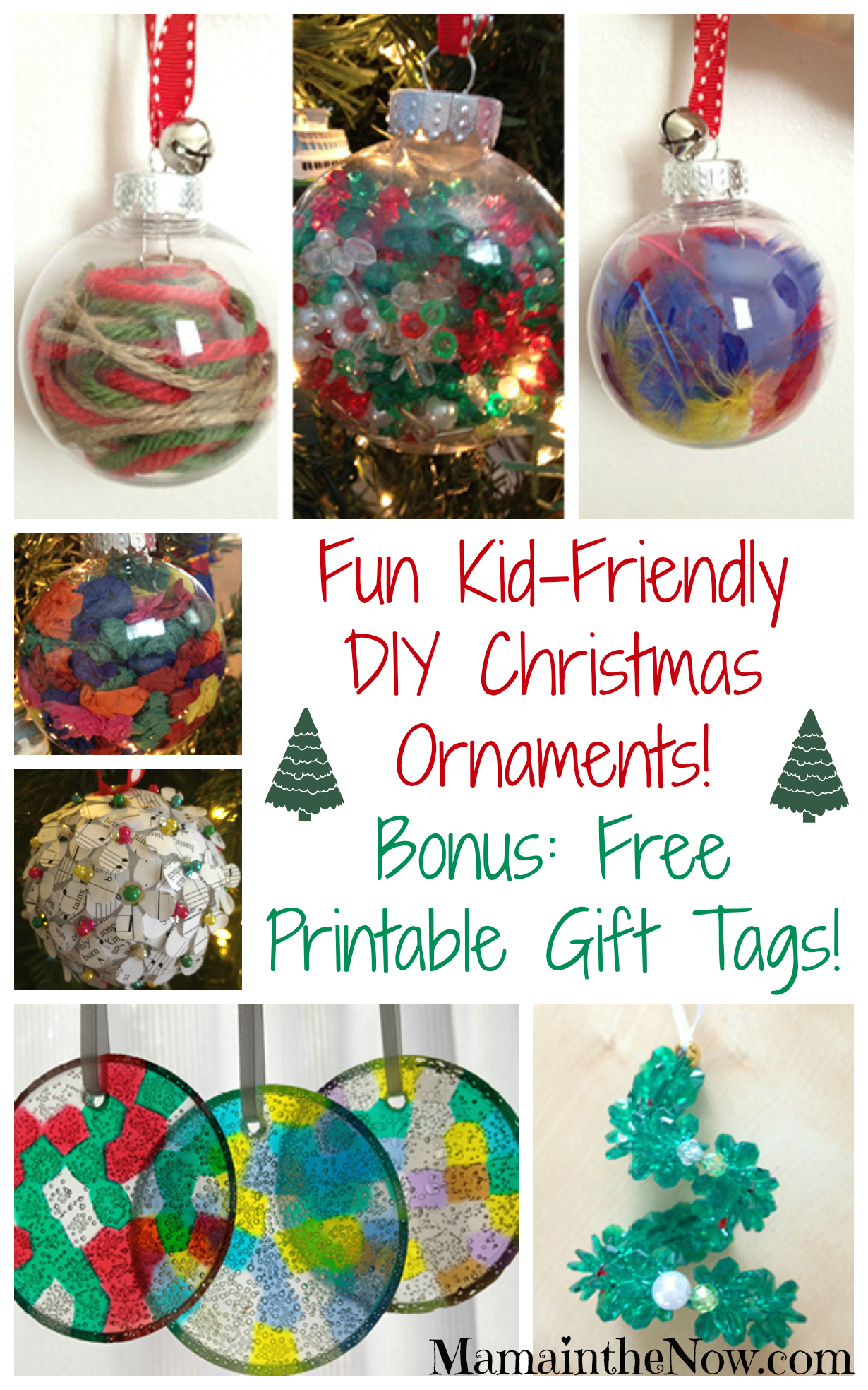 Diy christmas decorations 2014 - Christmas Tree Ideas For Kids 9 Shatterproof Kid Friendly Christmas Ornaments Martha Stewart