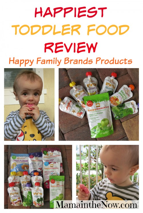 Happiest Toddler Food Review from Happy Family Brands