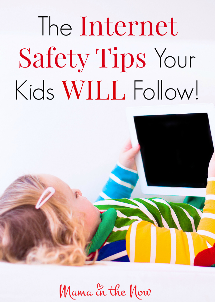 The internet safety tips your kids will understand and follow. Teaching your children about the potential dangers of the internet is no longer a choice, it is necessary to speak to them TODAY! Here is your script!