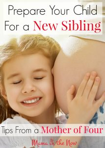 Smart ways to prepare your child for a new sibling - tips from a mother of four!