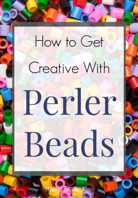 How to get creative with Perler beads, Hama beads and melty beads. How to use Perler beads. Creative Perler ideas for preschoolers, toddlers and kids of all ages. Perler bead inspiration. Perler bead ideas. Perler bead patterns. #PerlerBeads #PerlerBeadPatterns #PerlerIdeas #PerlerBeadCrafts #MamaintheNow