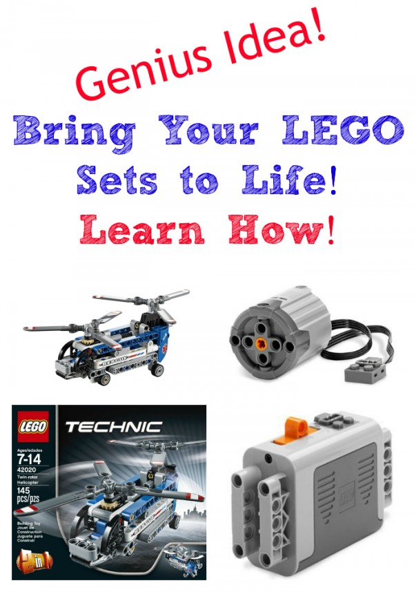 Genius Idea! Bring Your LEGO Sets to Life! Learn How