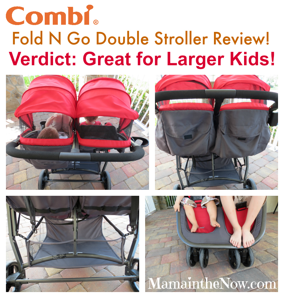 Combi USA Fold N Go Double Stroller Review