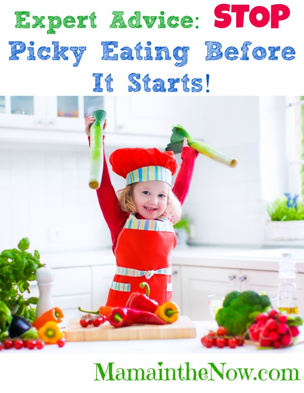 Expert Advice: Stop Picky Eating Before it Starts