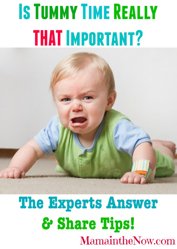 Is Tummy Time Really THAT Important? The Experts Answer & Share Tips!