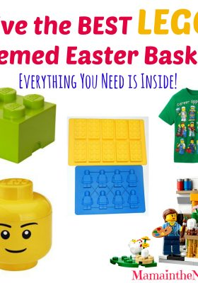 Give the Best LEGO Themed Easter Basket