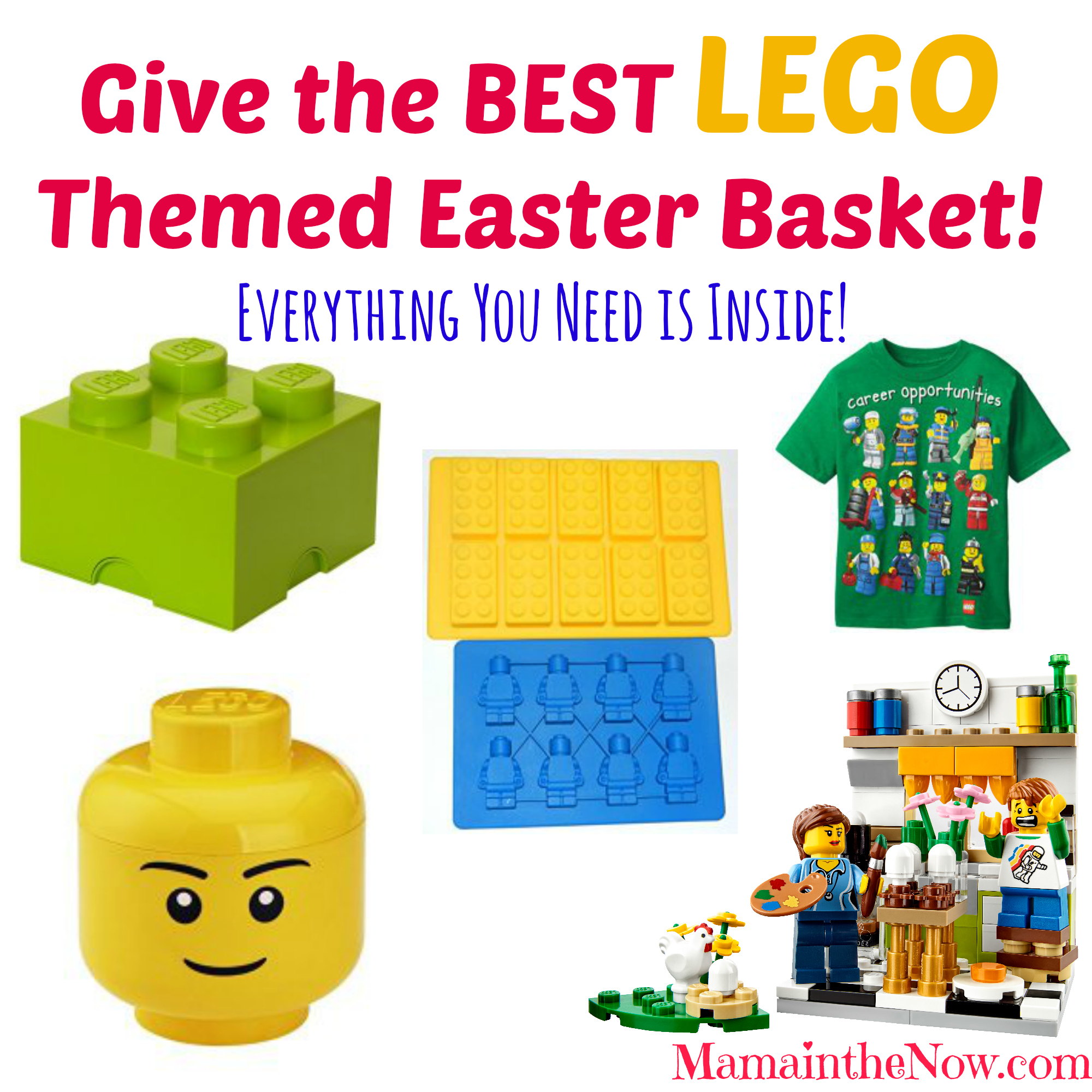 Give the best lego themed easter basket negle Image collections
