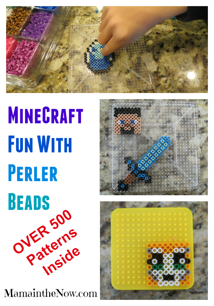 Over 500 Pokemon and Minecraft Perler bead patterns. Great activity to improve fine motor skills and hand strength.
