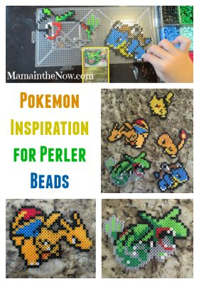Pokemon Inspiration for Perler Beads