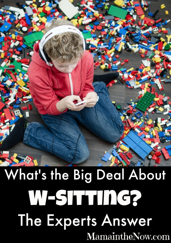 What's the Big Deal About W-Sitting? The Experts Answer