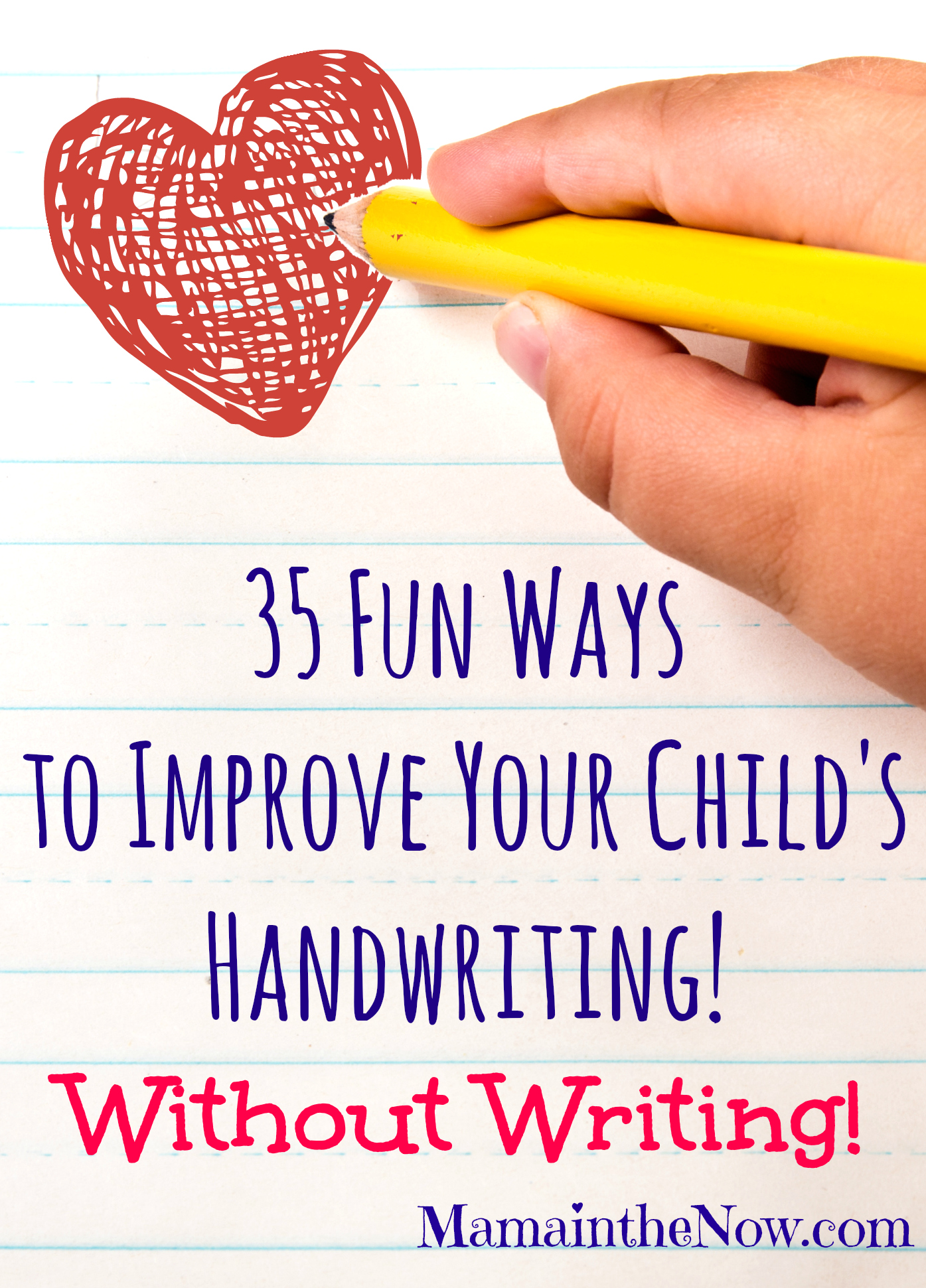 35 fun ways to improve your child 39 s handwriting without writing. Black Bedroom Furniture Sets. Home Design Ideas