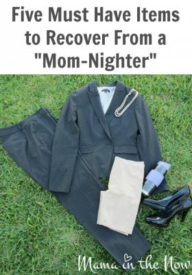 """Five Must Have Items to Recover From a """"Mom-Nighter"""" #SavedBySkimmies"""