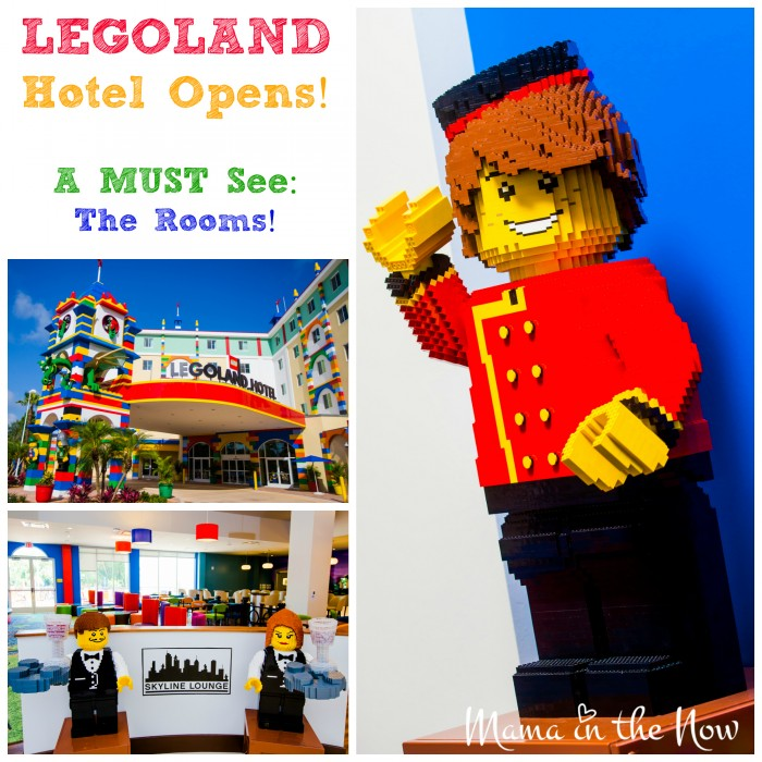 LEGOLAND Florida Hotel Opens: A Must See are The Rooms! Stunning Pictures