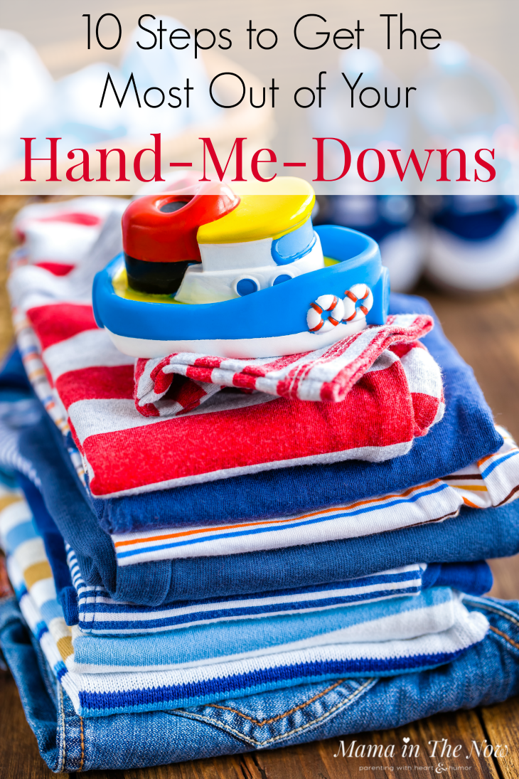 Check out the system this mother of four boys uses for her hand-me-downs. Save money on baby and kids clothes when you store and hand down clothes like this. Frugal mom trick. Money saving tricks and hacks for large families.