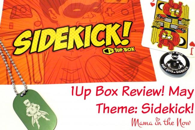 1Up Box Review! May Theme: SideKick