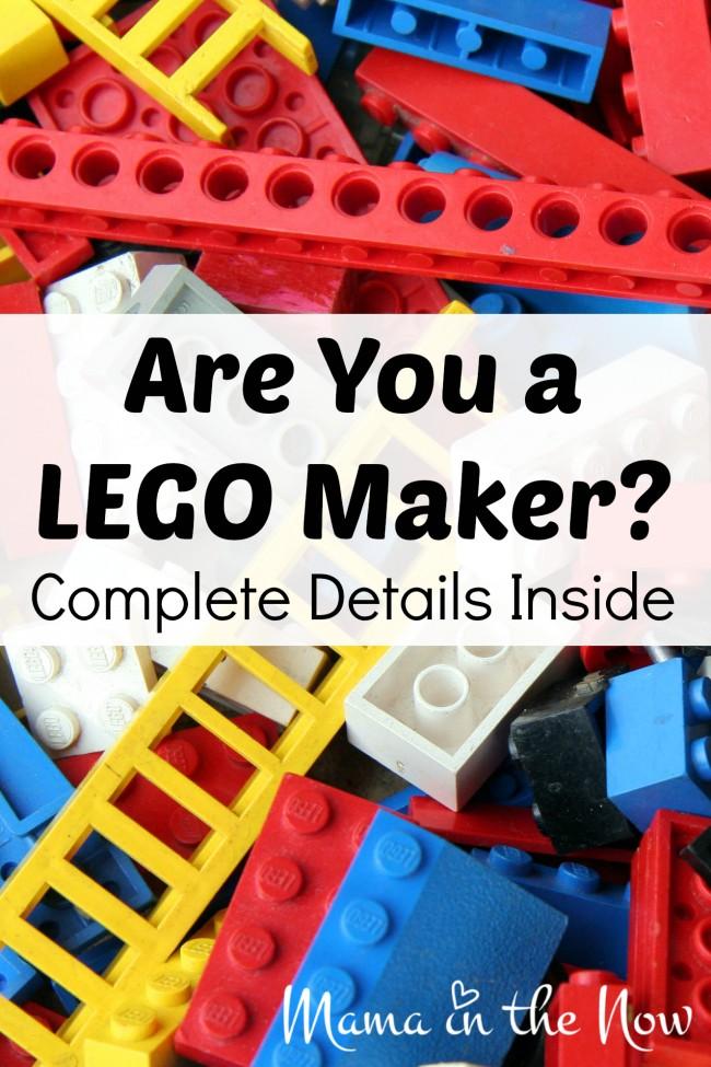 Are You a LEGO Maker? Complete Details Inside! #LEGOMakerNation