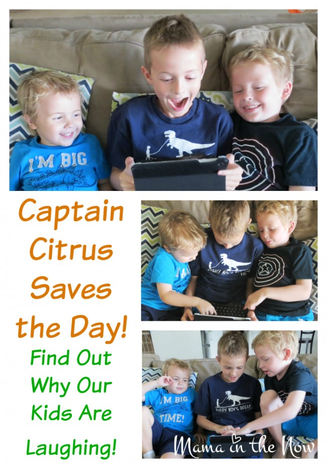 Captain Citrus Saves the Day! Find Out Why Our Kids Are Laughing!