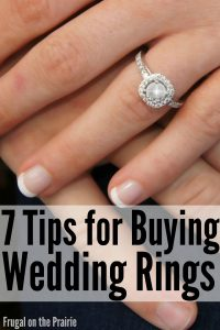 7 Tips for buying wedding rings