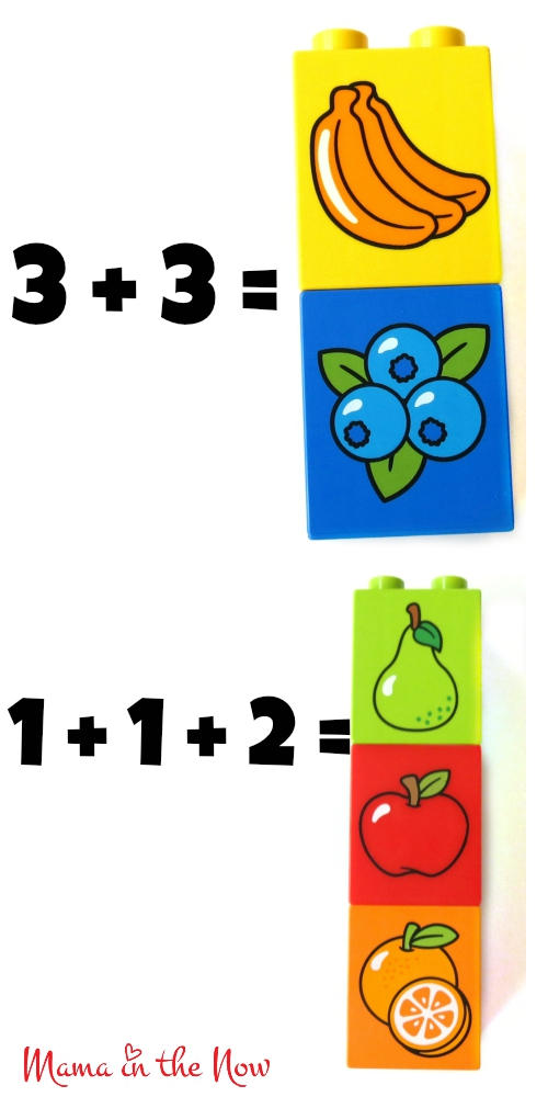 DUPLO Math Flash Card