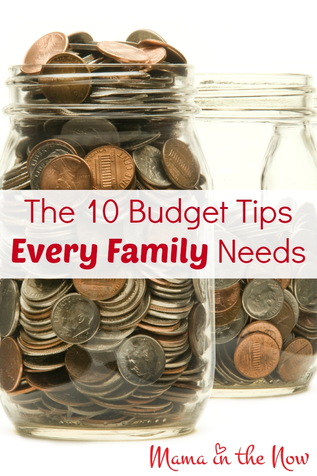 The 10 Budget Tips Every Family Needs