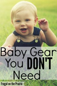 Baby gear you don't need