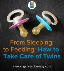 From sleeping to feeding: how to take care of twins