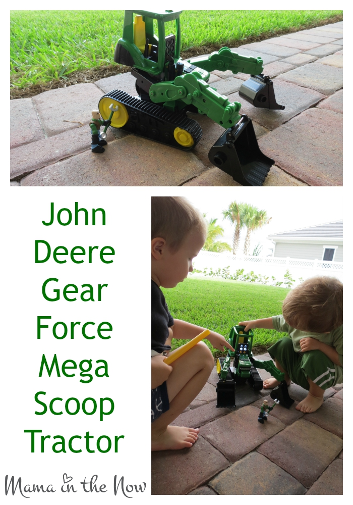 Lessons from a Farm Tractor. John Deere Gear Force Mega Scoop Tractor - the play set that taught me a thing or two about my kids.