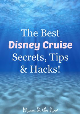 The Best Disney Cruise Secrets, Tips and Hacks. A mother of four boys, veteran-Disney-cruise traveler and travel agent is sharing everything she has learned from years of traveling. These tips are perfect for families traveling with young kids!