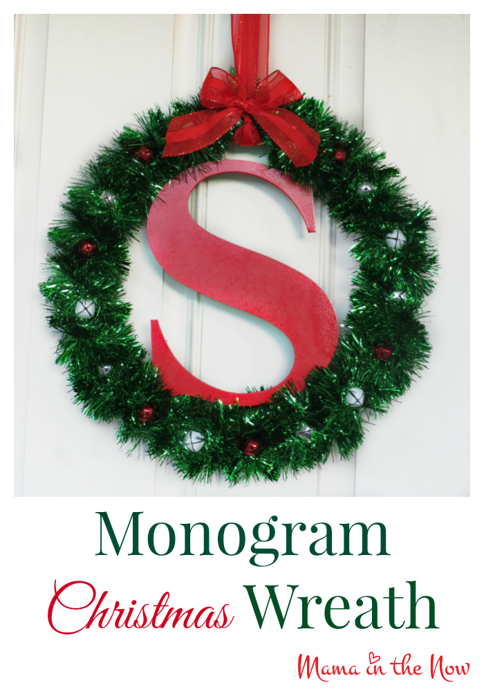 door christmas stewart wreath martha hht thd holiday vert doors monogram monogramwreath wreaths ornamented