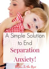A Simple Solution to End Separation Anxiety
