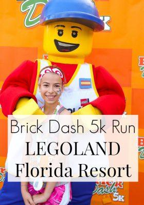 Brick Dash 5k Run LEGOLAND Florida Resort