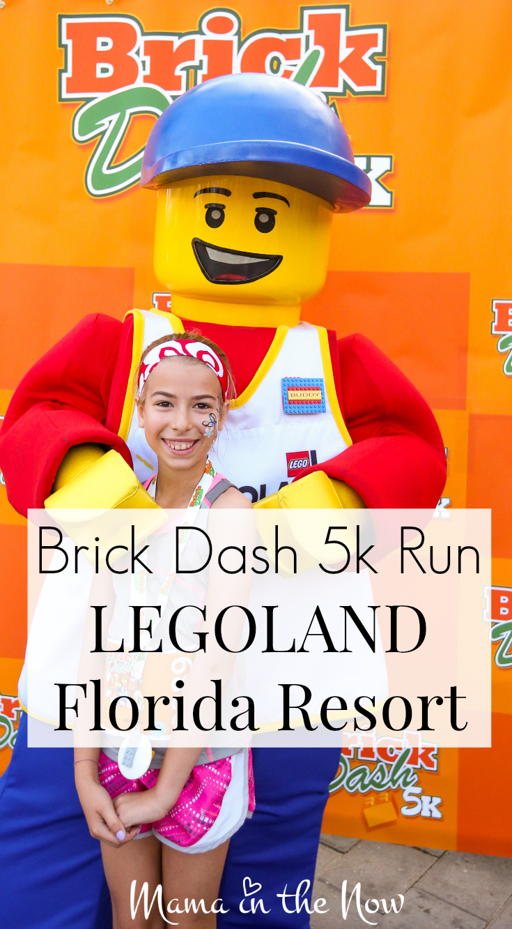 Brick Dash 5k Run LEGOLAND Florida Resort