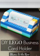 DIY LEGO Business Card Holder