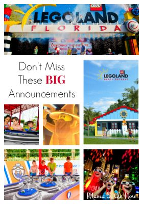 Major announcements today from LEGOLAND Florida about the future expansions of the park. These updates and additions are not to be missed!