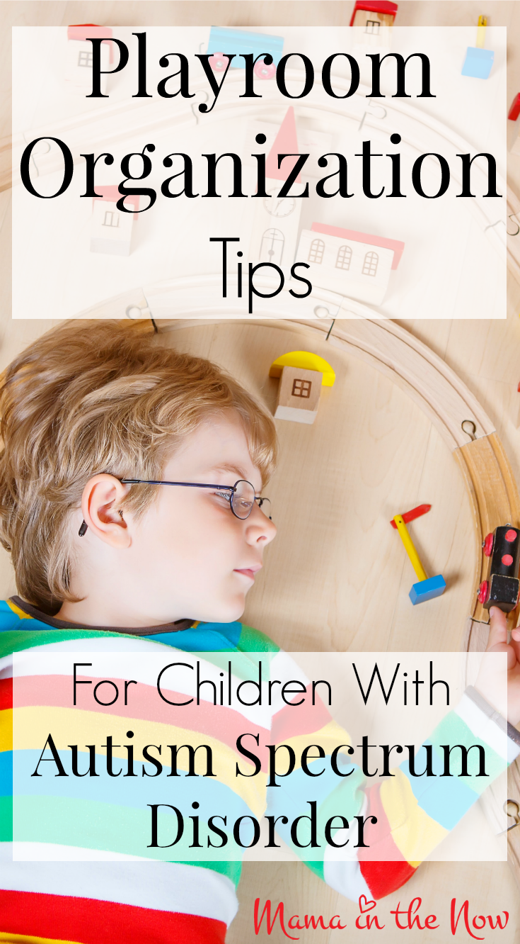 "Play room organization tips for children with autism spectrum disorder (""ASD""). This system gives special needs children the structure and routine they need to thrive. Toys for kids with Autism"