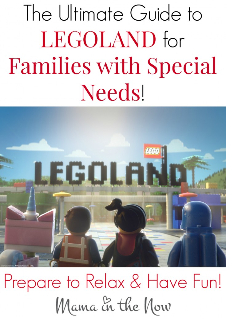 The Special Needs Family's Guide to LEGOLAND. A personalized approach to making your vacation a reality and a success.