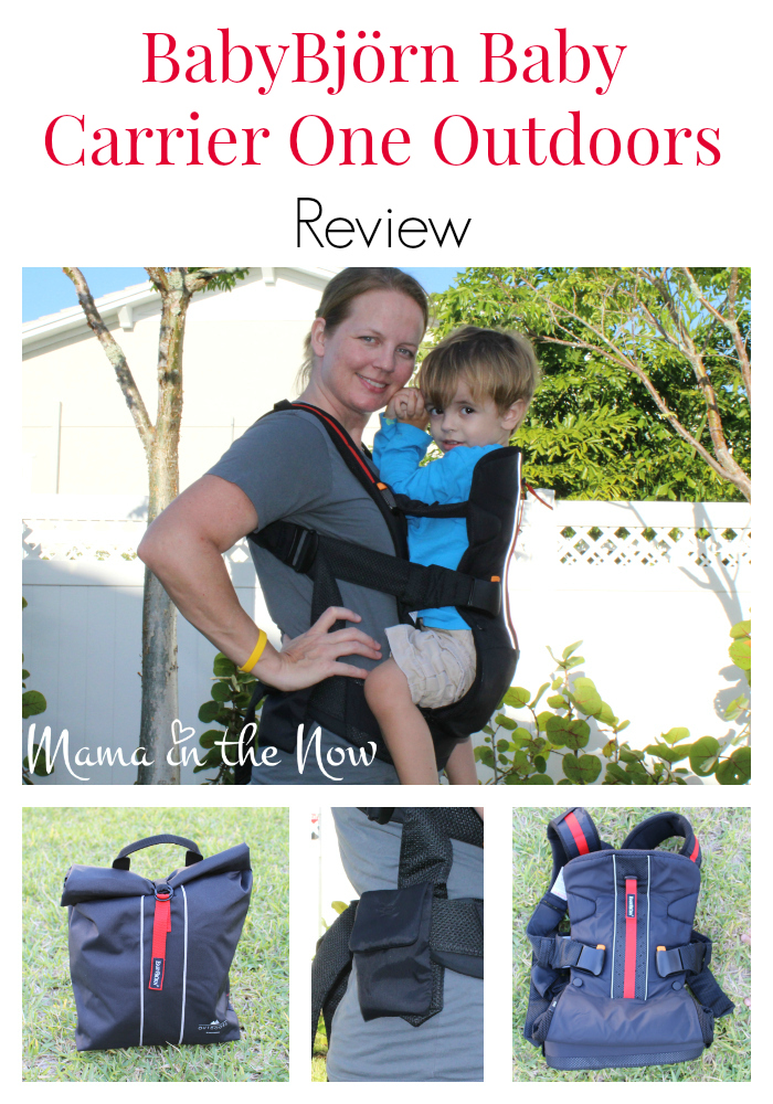 The new BabyBjorn Baby Carrier One Outdoors is the perfect carrier for nature-loving families. The hip-healthy design is great for infants and toddlers, up to 33 lbs.