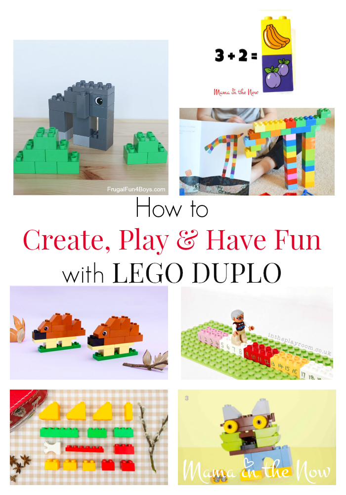 How to create, play and have fun with LEGO DUPLO. Lots of inspiration to learn and enjoy free-play with your child. Hands-on learning tips.