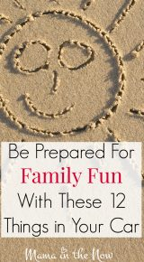 Be Prepared For Family Fun With These 12 Things in Your Car