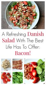 A Refreshing Danish Salad With The Best Life Has to Offer: Bacon!