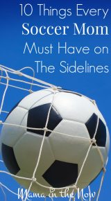 10 Things Every Soccer Mom Must Have on The Sidelines