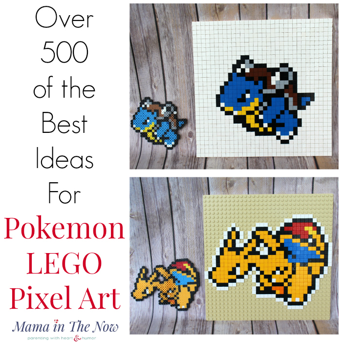 Over 500 fun Pokemon templates and patterns for pixel art. Perfect for LEGO building inspiration for tweens and teens.
